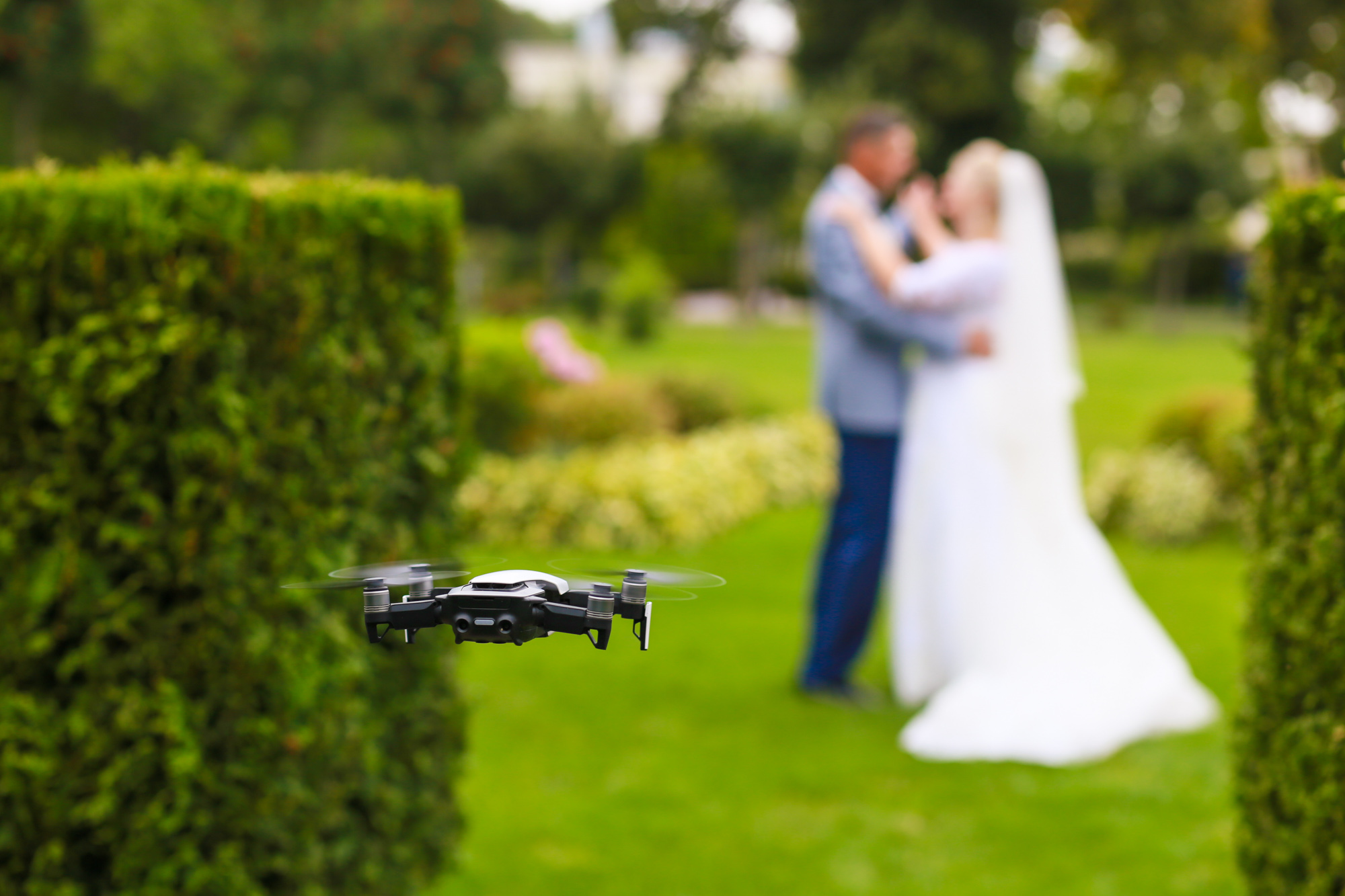 MS Productions Drone wedding