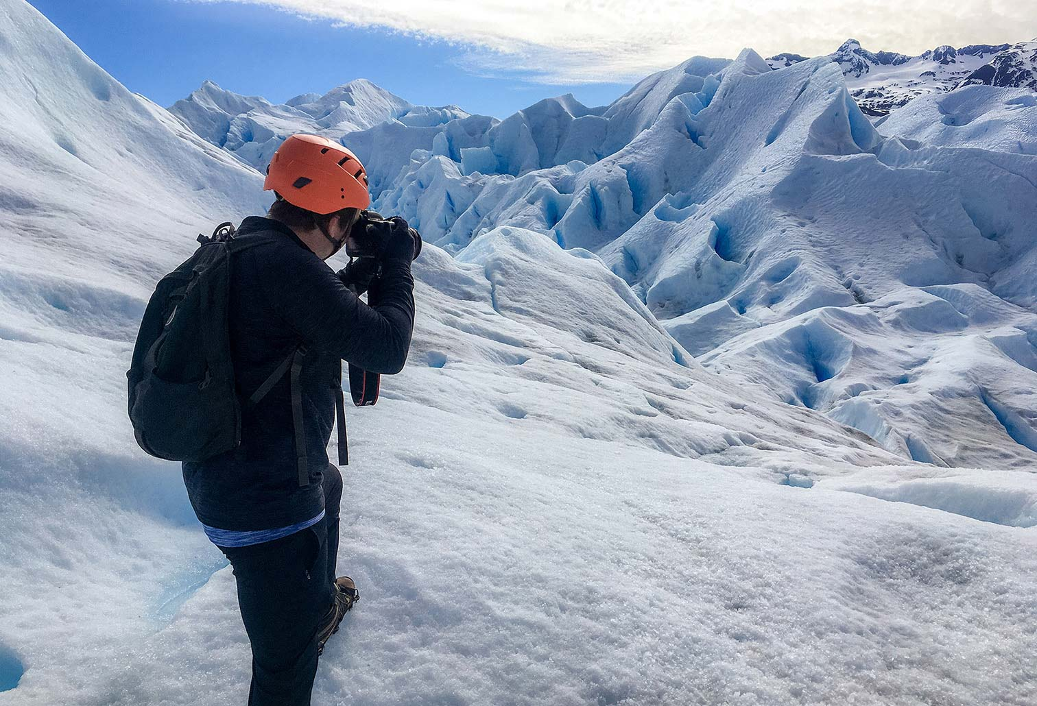 MS Productions Photography on a Glacier